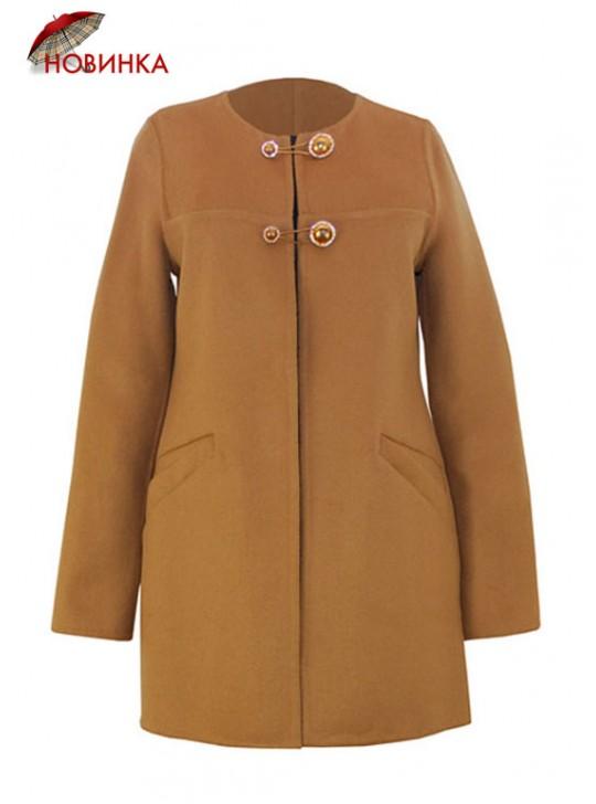 Т-933/К Летнее пальто приталенного силуэта без подклада