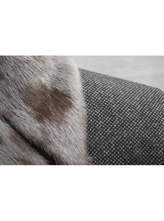 М-217/СТЗ Элегантное зимнее мужское пальто с нерпой