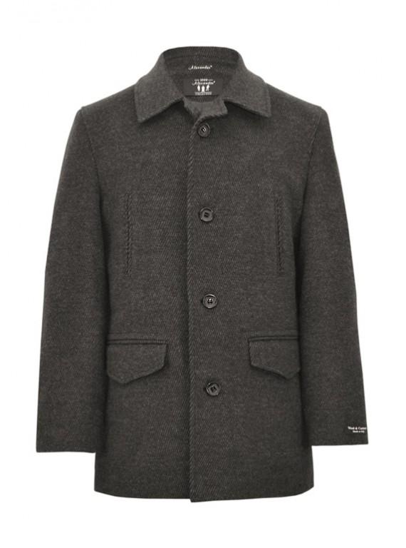 М-102/Р Мужское пальто средней длины из ратина