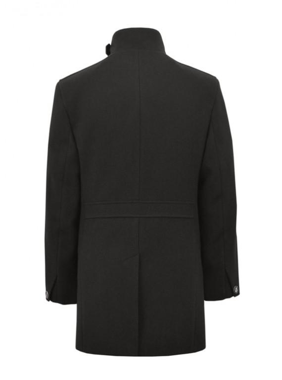 М-103А/Ч Черное мужское пальто