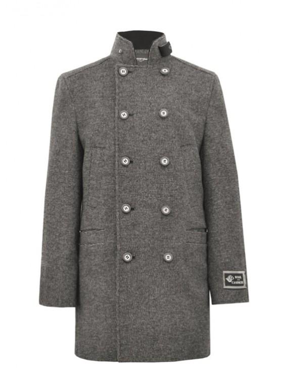 М-103А/С Мужское двубортное пальто