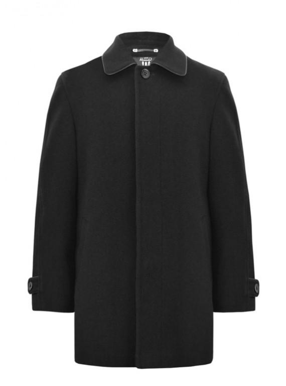 М-201/Ч Классическое мужское черное пальто