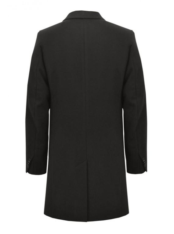 М-209/Ч Стильное приталенное мужское пальто