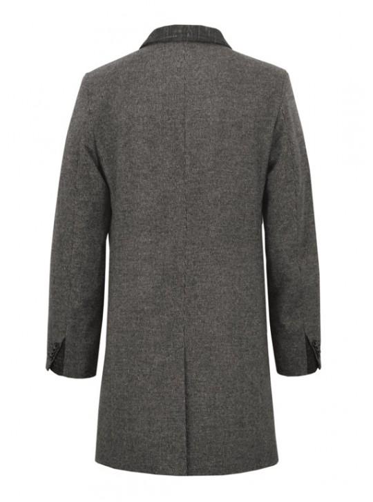 М-210 Мужское удлиненное пальто