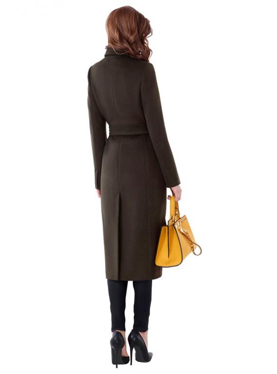А-2652 Стильное пальто приталенного силуэта