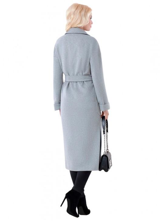 А-2665/Ж Длинное пальто-халат