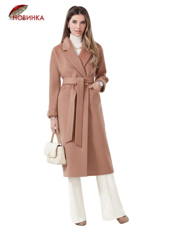 А-2666 Стильное двубортное пальто oversize