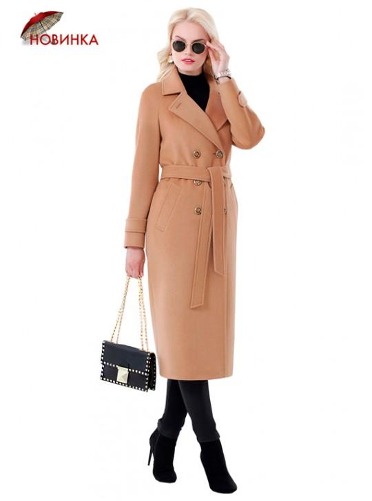 А-2673/К Модное женское пальто-тренч