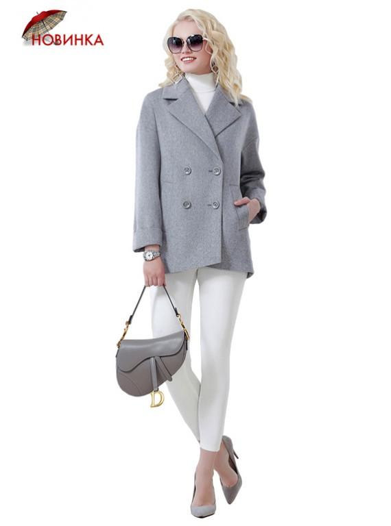 А-2674/С Короткое пальто в стиле Car Coat
