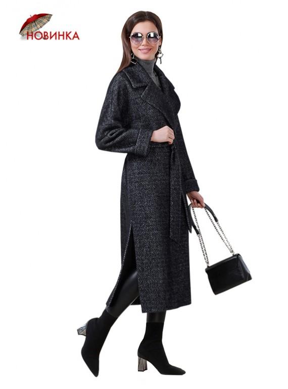 А-2714 Пальто-халат свободного силуэта