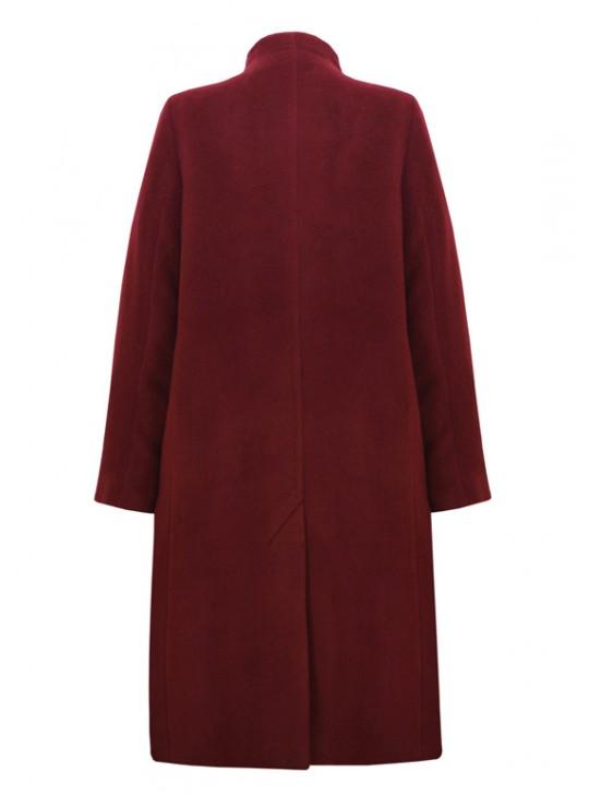 7350/Б Расклешенное женское пальто