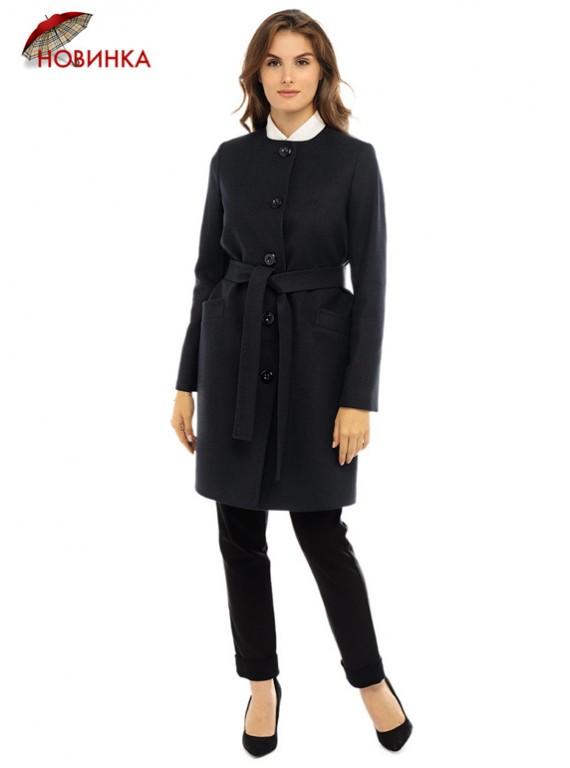 Т-1127/ЧС Молодежное женское пальто без ворота