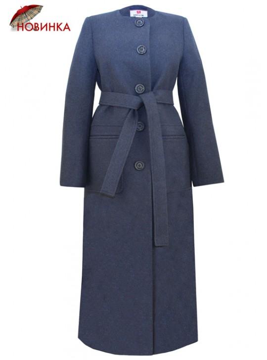Т-1080/СС Длинное молодежное пальто