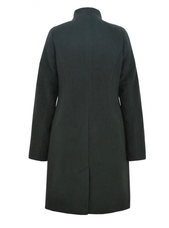 Т-1107 Молодежное приталенное кашемировое пальто