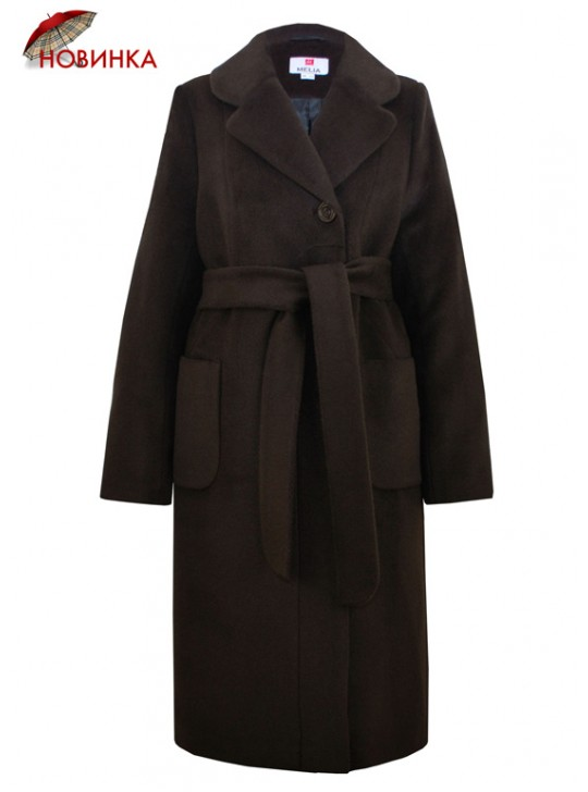 Т-1121/К Женское утепленное длинное пальто