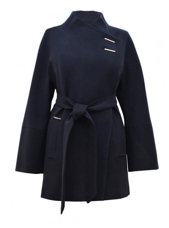 И-13/С Укороченное пальто с поясом