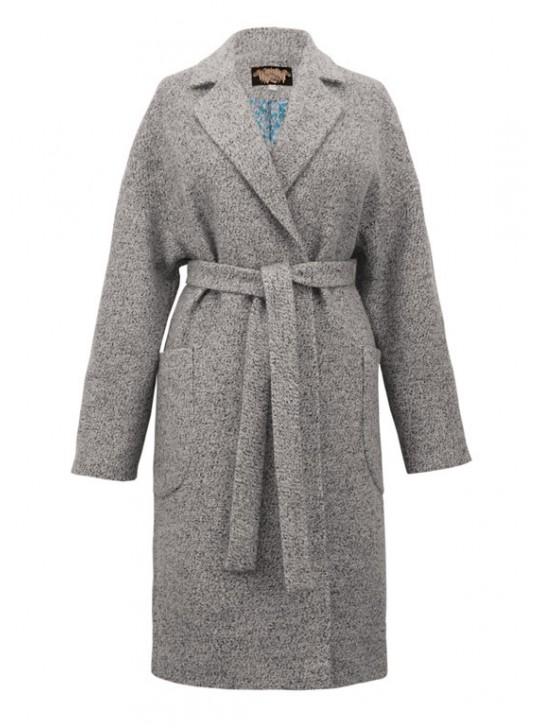 Э-2/С Пальто классическое серое