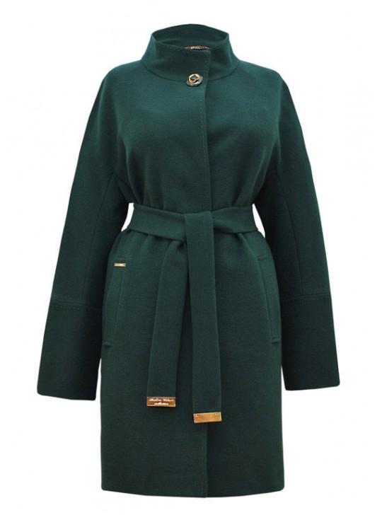 И-34/З Удлиненное женское пальто прямого силуэта