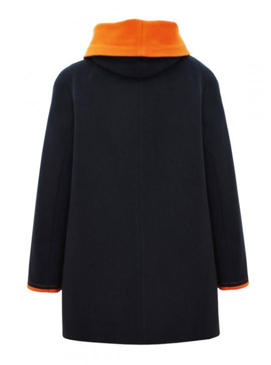 И-93/СГ Женское демисезонное пальто с капюшоном