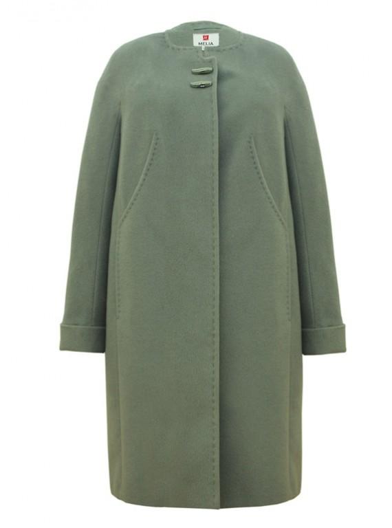 Т-909/Ф Классическое женское пальто прямого покроя