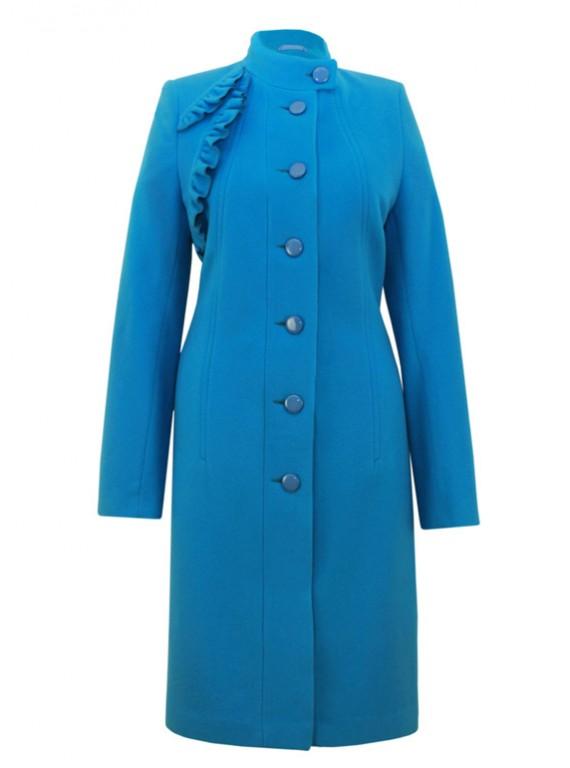 М-3175 Элегантное женское пальто из кашемира