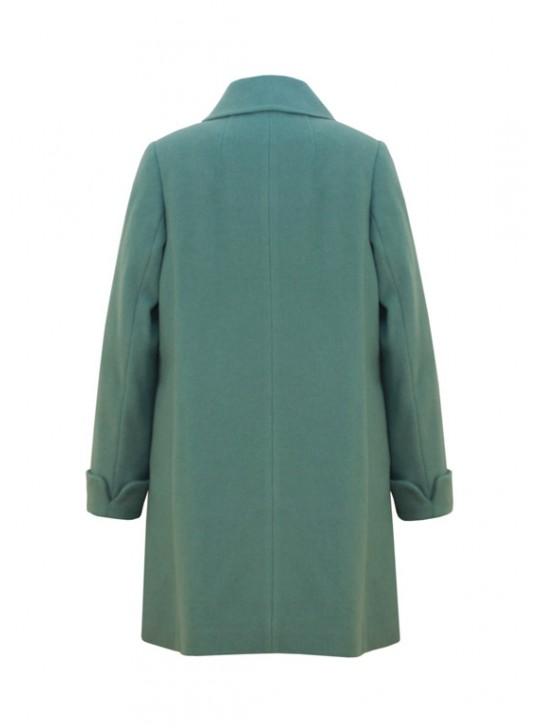 М-3216 Элегантное женское пальто с шарфом