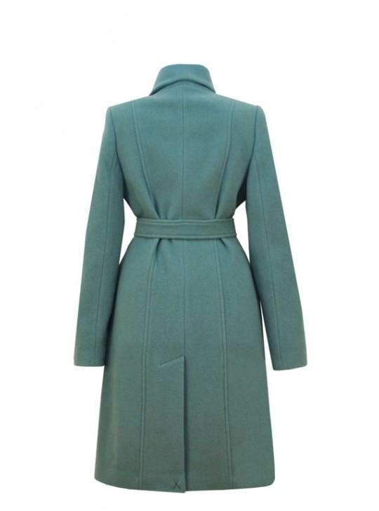 М-3217 Демисезонное женское пальто из кашемира