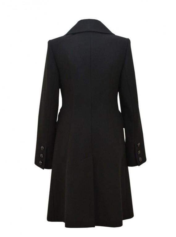 5164 Женское пальто классического покроя