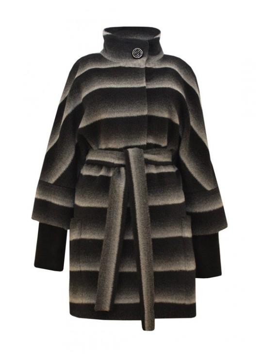 Т-857/ЧС Женское шерстяное пальто на осень