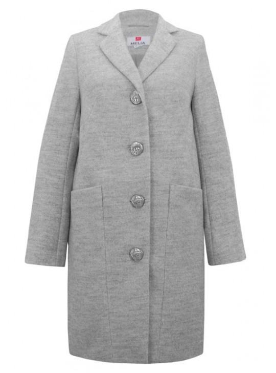 Т-1019/С Молодежное пальто модного фасона