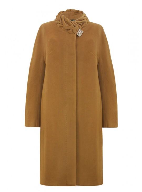61658/П Элегантное женское удлиненное пальто