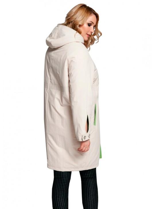 Б-412/Я Плащ-пальто силуэта кокон на синтепоне