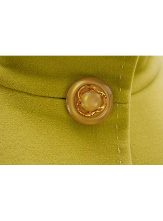 И-34/Л Демисезонное удлиненное пальто прямого силуэта