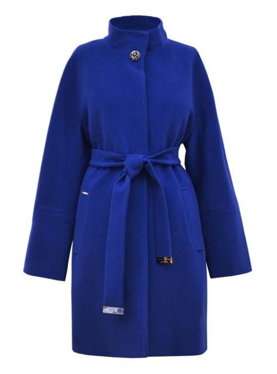 И-34/Э Женское удлиненное пальто прилегающего силуэта