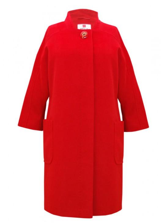 Т-983/К Удлиненное пальто прямого силуэта