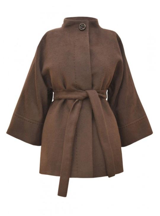 Т-841/Ш Укороченное женское пальто