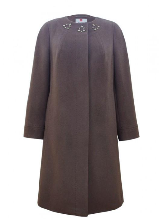 Т-907/С Удлиненное пальто приталенного силуэта