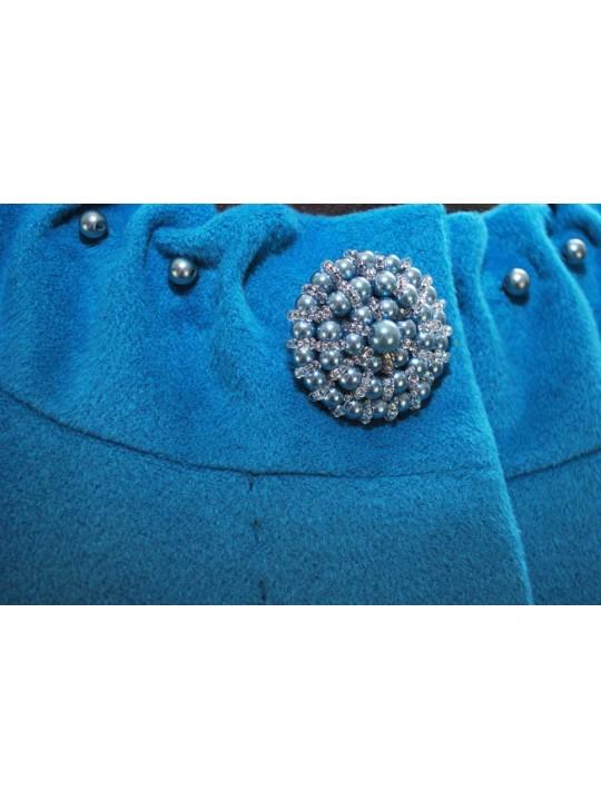 Т-921 Укороченное женское пальто прямого силуэта