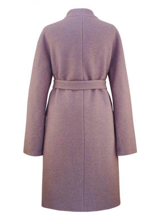 С-1133 Женское удлиненное пальто из букле
