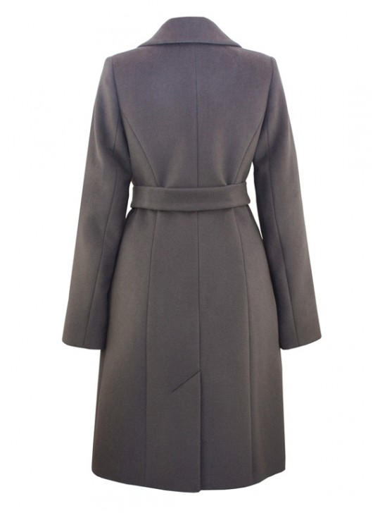 С-1150 Приталенное женское пальто с поясом