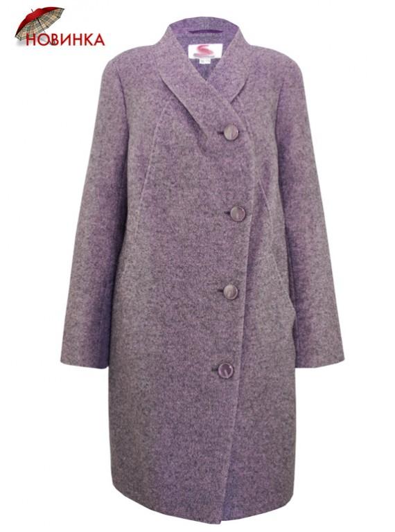 С-1152 Женское пальто большого размера